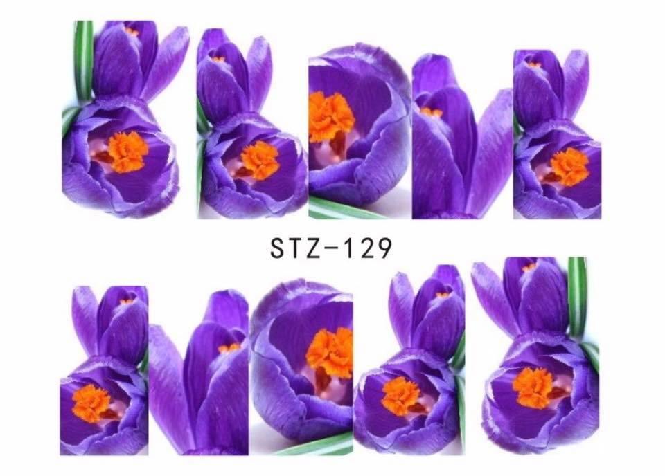 Слайд для дизайна ногтей STZ-129