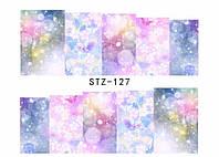 Слайд для дизайна ногтей STZ-127