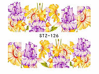 Слайд для дизайна ногтей STZ-126