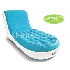 Надувное кресло Intex 68880 (84x170x81 см.) Splash Lounge