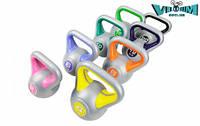 Набор с 8 гирь виниловых Hop-Sport 78кг