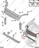 Передние поперечные части кузова (услитель, лонжерон, поперечина, балка радиаторная ) Citroen Berlingo M59 (2003-2008) 7209 95