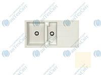 Гранитная мойка ALVEUS Cubo 70-A23 cream 1088565