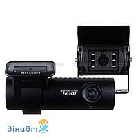 Автомобильный видеорегистратор Blackvue DR 650 GW-2СH Truck с 2 камерами (1 выносная) и GPS модулем