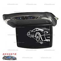 Автомобильный потолочный монитор Clayton 13FDTV BL с DVD/USB/SD и ТВ-тюнером, цвет черный
