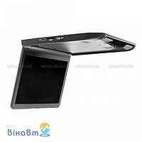 Автомобильный потолочный монитор Clayton SL-1330 Full HD BL с USB/SD, цвет черный