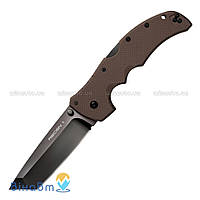 Нож Cold Steel Recon 1 Tanto Point Brown (27TLTVF)