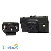 Автомобильный видеорегистратор Falcon HD77-2CAM с 2 камерами (1 выносная)