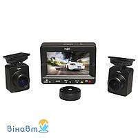 Автомобильный видеорегистратор Gazer F225 с 2 выносными камерами + 8 Гб