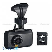 Автомобильный видеорегистратор Gazer F122 + 8 Гб