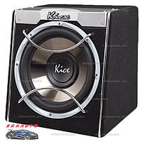 Автомобильный сабвуфер Kicx ICQ-301BXA корпусной активный