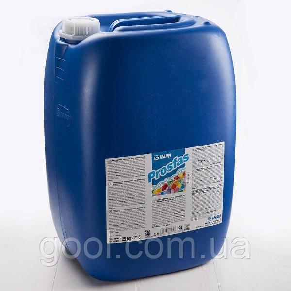 Грунтовка скрепляющая Мапей Просфас для цементных стяжек канистра 25 кг. прозрачная жидкость