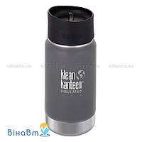 Термофляга Klean Kanteen Wide Vacuum Insulated Cafe Cap 2.0 355 мл Granite Peak (matt)
