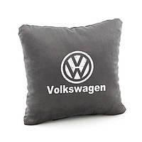 Подушка с логотипом Volkswagen флок, фото 1