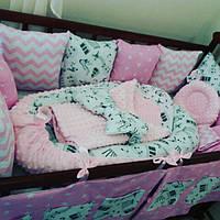 Комплект для новорожденных спокойных оттенков