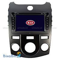 Штатная магнитола RoadRover C7025KF для Kia Cerato 2009-2012 с кондиционером