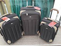 """Комплект чемоданов бизнес класса фирмы """"CCS"""" navy 3в1 на 2-х колесах, Одесса"""