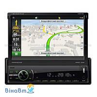 Медиа-ресивер (USB/SD автомагнитола) Shuttle SDMN-7060 c ТВ-тюнером, Bluetooth и GPS
