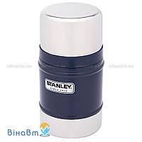 Термос для еды Stanley Classic Vacuum Food Jar 0,5 л Темно-синий