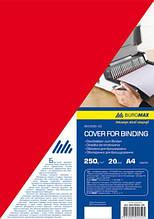 Обкладинка картонні  глянець  А4 250г/м2, червоні