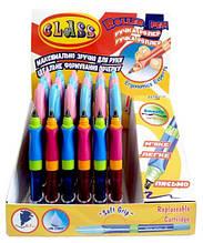 """Ручка ролер для школярів """"Тренажер почерку"""", зі зм.картриджем, 305, CLASS"""