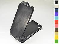 Откидной чехол из натуральной кожи для HTC Desire 816