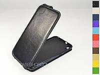 Откидной чехол из натуральной кожи для HTC Desire 820G, фото 1
