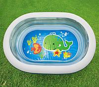 """Детский надувной бассейн Intex """"Нежность"""" 163x107х46 cм  (57482)"""