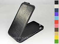 Откидной чехол из натуральной кожи для HTC Desire 826