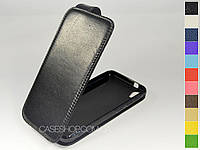 Откидной чехол из натуральной кожи для HTC Desire Eye