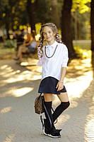 Детская школьная рубашка на девочку