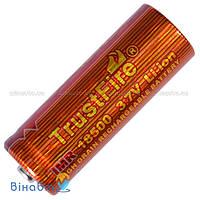 Аккумулятор литиевый Li-Ion IMR 18500 TrustFire 3.7V (1100mAh)