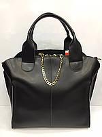 Женская кожаная сумка в стиле Givani