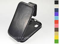 Откидной чехол из натуральной кожи для HTC Amaze 4G