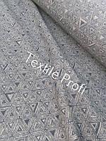 "Льняная плотная ткань ""Мозаика"", фото 1"