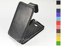 Откидной чехол из натуральной кожи для HTC Windows Phone 8S (a620e)