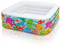 Семейный надувной бассейн Intex  159x159х50 cм  (57471)