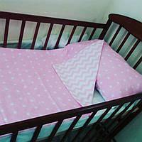 Комплект постельного белья для новорожденных из 100% хлопка