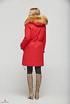 Женская зимняя куртка-парка трансформер 4 в 1, фото 3