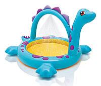 """Детский надувной бассейн Intex """"Динозаврик"""" 229х165х117 cм  (57437)"""