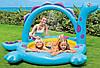 """Детский надувной бассейн Intex """"Динозаврик"""", с фонтаном, 229х165х117 cм  (57437), фото 3"""