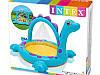 """Детский надувной бассейн Intex """"Динозаврик"""", с фонтаном, 229х165х117 cм  (57437), фото 5"""