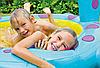 """Детский надувной бассейн Intex """"Динозаврик"""", с фонтаном, 229х165х117 cм  (57437), фото 4"""