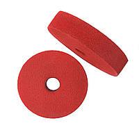 Абразивный диск скотч-брайт 150х30х32 F240 красный