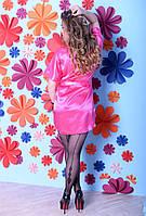 Легкий женский сатиновый халатик от производителя