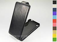 Откидной чехол из натуральной кожи для Sony Xperia Z3 DS D6633