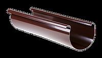 Желоб PROFIL, ПВХ, 90/75 мм, длина 3м, коричневый
