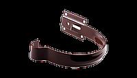 Держатель желоба малый PROFIL, металл, 130/100 мм, коричневый