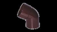 Произвольное колено (от 70º до 170º)  PROFIL, ПВХ, 130/100 мм, коричневый