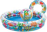Детский надувной бассейн Intex 132x28 cм  (59469)